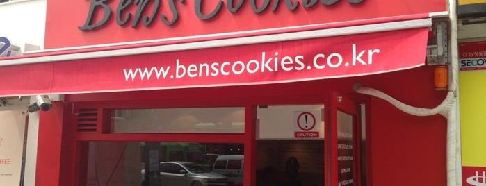 Ben's Cookies is one of Peter 님이 저장한 장소.