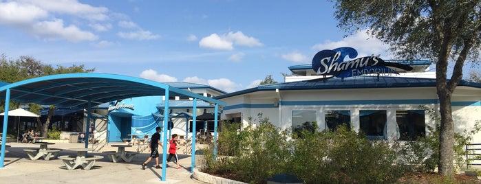 SeaWorld San Antonio's Shamu Emporium is one of SeaWorld San Antonio.