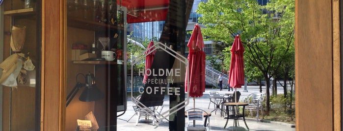 HOLDME SPECIALTY COFFEE is one of Selineさんの保存済みスポット.