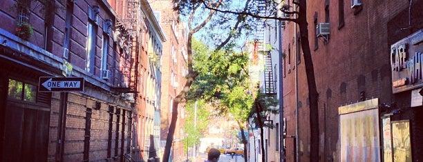 Greenwich Village is one of Manhattan Neighbourhoods.