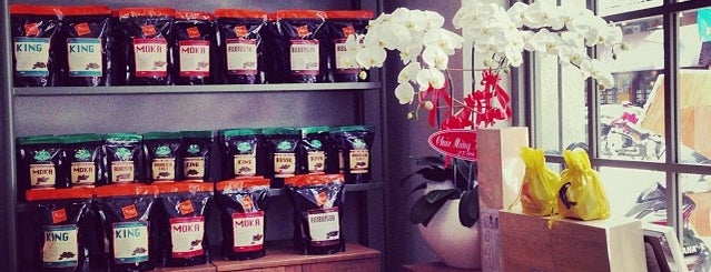 Phúc Long Coffee & Tea Express Ngo Duc Ke is one of Vietnam - Saigon.