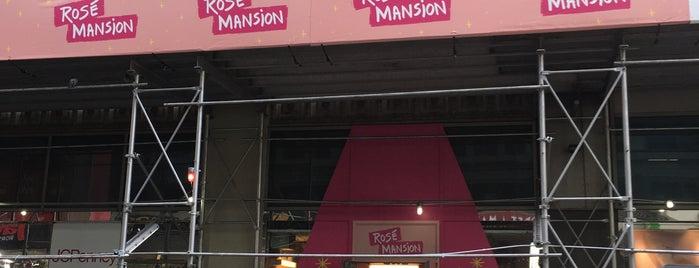 Rosé Mansion is one of Orte, die Donn gefallen.