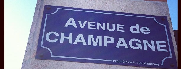 Avenue de Champagne is one of Burgundy/Champagne.