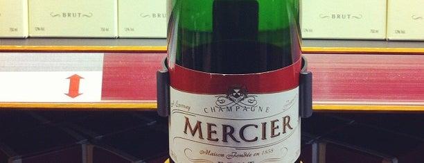 Champagnes Eugene Mercier is one of Lieux qui ont plu à Wim.