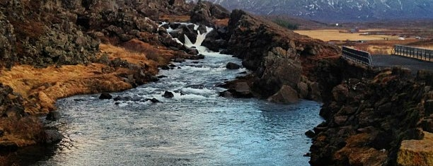Þingvellir National Park is one of Anjaさんのお気に入りスポット.