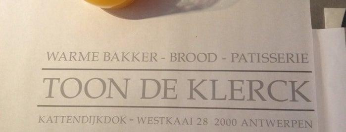 Bakkerij Toon De Klerck is one of Antwerp Pateekes week.
