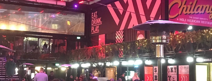 BOXPARK Croydon is one of Nick's Liked Places.