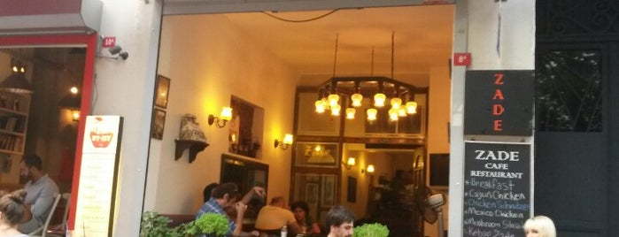 Cafe Zade is one of beyoglu.