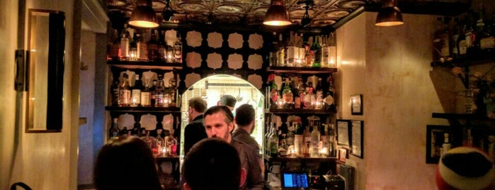 Wallflower is one of The New Yorkers: Happy Hour.