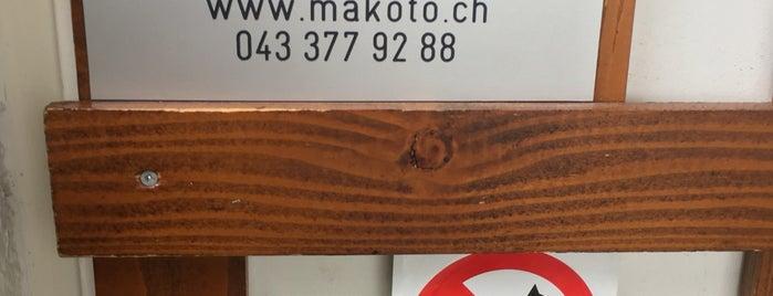 Makoto Sushi Bar is one of Tempat yang Disimpan Pepe.