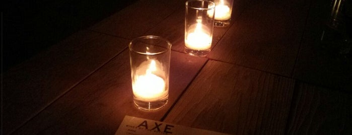 Axe Restaurant is one of CBM to try in LA.