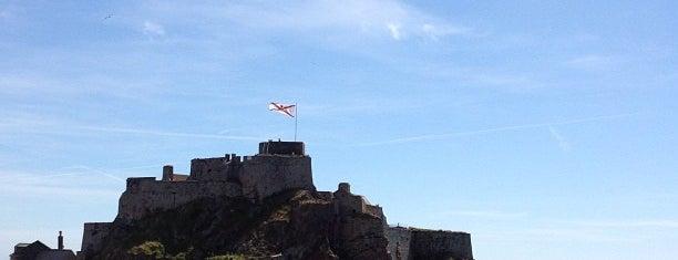 Elizabeth Castle is one of Jersey.