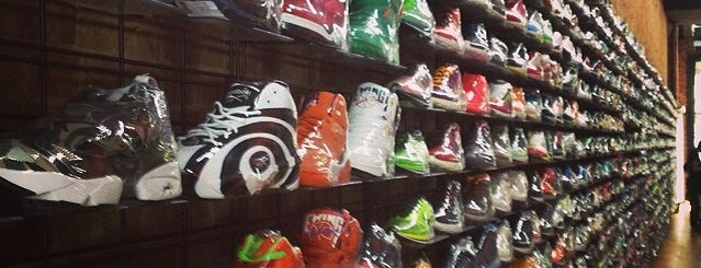 Flight Club (Greene St) is one of Top NYC Sneaker Shops.