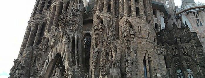 Sagrada Família is one of Barcelona in a weekend.