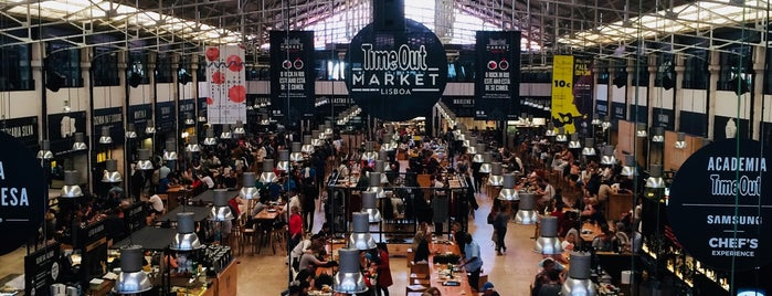 Time Out Market Lisboa is one of Lisbon for three (or more) days.