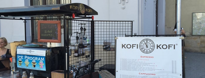 Kofi-Kofi is one of Брно.