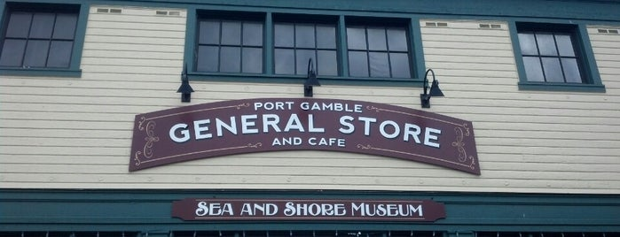 Port Gamble General Store and Cafe is one of สถานที่ที่ Jeff ถูกใจ.