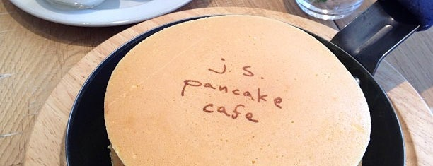 j.s. pancake cafe is one of 東京周辺カフェリスト byこっこ.