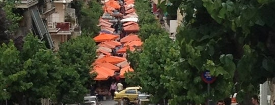 Λαϊκή Αγορά Καλλιδρομίου is one of Athens.