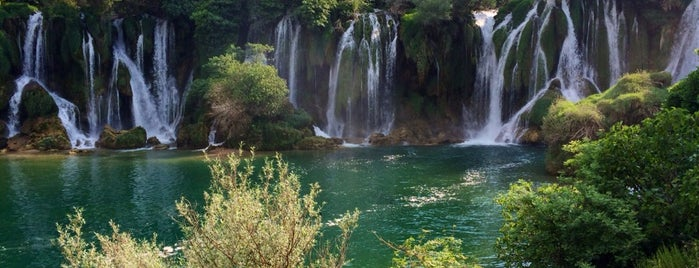 Kravice Waterfalls is one of Far Far Away.