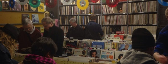 Hymie's Vintage Records is one of worldwide record stores..