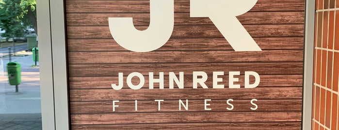 John Reed Fitness is one of Locais curtidos por Adam.