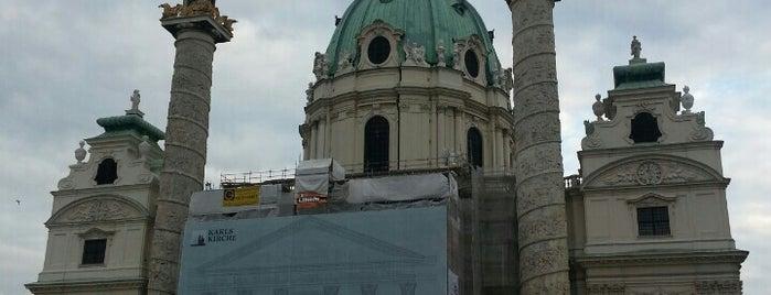Karlskirche is one of wien.