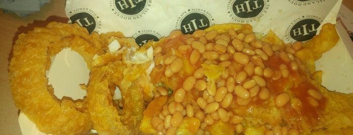 The Island House: Fish & Chips Restaurant is one of Sam 님이 좋아한 장소.