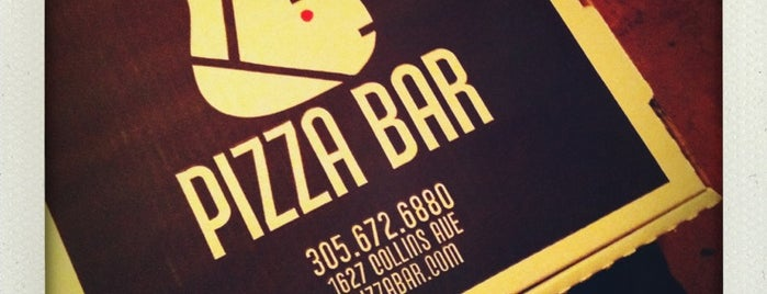Pizza Bar South Beach is one of EAT Miami.