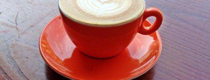 Upshot Espresso is one of สถานที่ที่ Robert ถูกใจ.