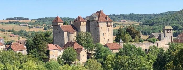Curemonte is one of Les plus beaux villages de France.
