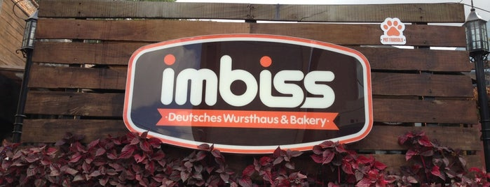 IMBISS Deutsches Wursthaus & Bakery is one of Locais curtidos por Fernanda.