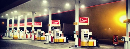 Shell is one of My favorites for Gas Stations or Garages.