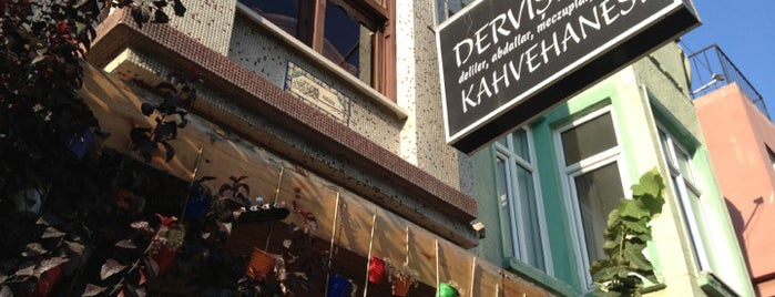 Derviş Baba Kahvehanesi is one of places to go.