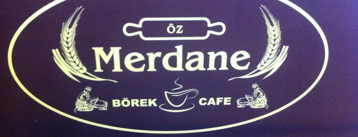 ÖZ Merdane Börek&Cafe is one of Favoriler.