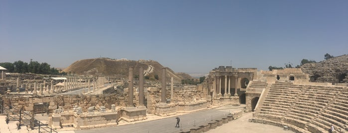 Beit She'an Archeological Site is one of Locais curtidos por David.
