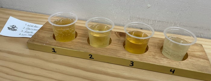 Honeygirl Meadery is one of Durham Favorites.