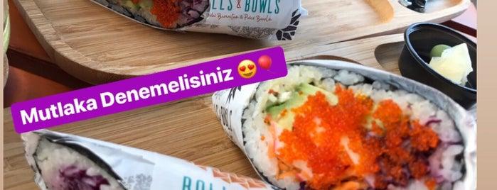 Rolls & Bowls is one of MüM 💎'ın Beğendiği Mekanlar.