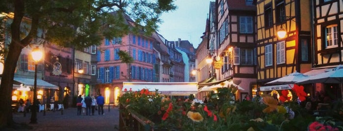 Colmar is one of [To-do] France.