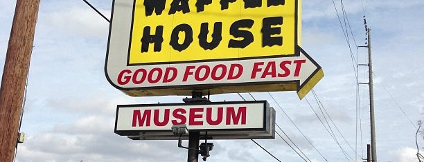 Waffle House Museum is one of Lugares guardados de Lindsay.