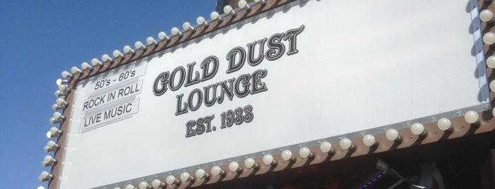 Gold Dust Lounge is one of SF Bars.