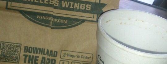 Wingstop is one of Gerardo'nun Beğendiği Mekanlar.