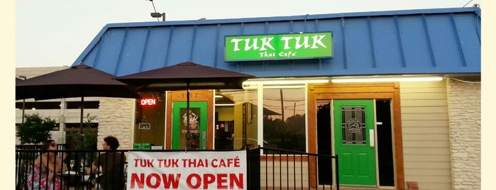 Tuk Tuk Thai Cafe is one of Austin.