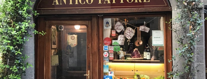 Trattoria Antico Fattore is one of Posti salvati di Maria.