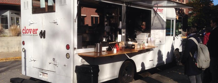 Clover Food Truck is one of The 101 Best Food Trucks in America.