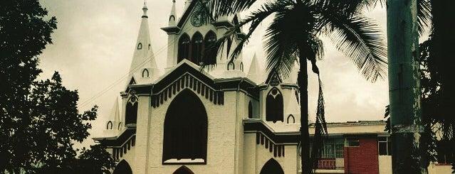 Sacrosanta Basílica Menor De La Inmaculada Concepción is one of Lugares favoritos de Federico.