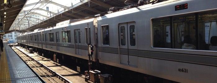 Hibiya Line Minami-senju Station (H21) is one of Tokyo - Yokohama train stations.