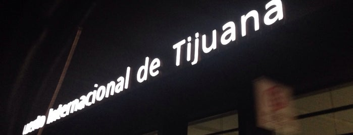 Aeropuerto Internacional de Tijuana (TIJ) is one of Lugares favoritos de Sergio M. 🇲🇽🇧🇷🇱🇷.