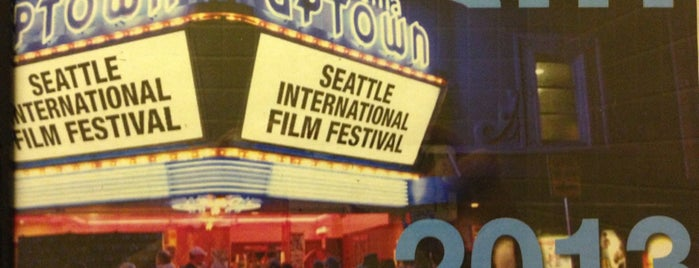 SIFF Cinema at the Uptown is one of Tempat yang Disukai Cusp25.