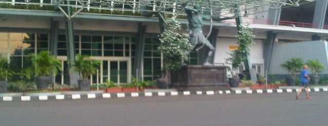 Istora Gelora Bung Karno (Istora Senayan) is one of Enjoy Jakarta 2012 #4sqCities.